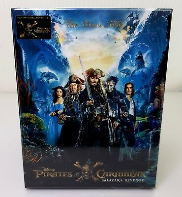 Pirates Of The Caribbean: Salazar's Revenge [2D+ 3D] Blu-Ray Steelbook Filmarena