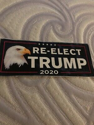 Re-Elect Trump 2020  Eagle Sticker For President Donald Usa Decal