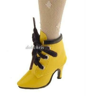 """Shoes Tall Boots for 16/"""" Tonner Tyler Cami Doll Green Lace Up new"""