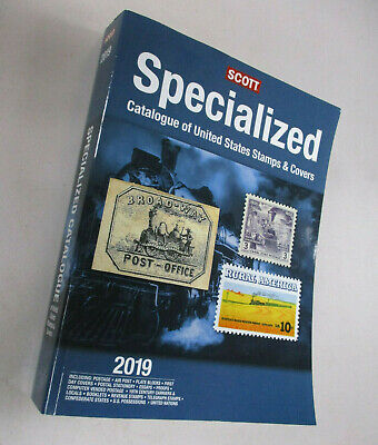 Scott Specialized 2019 Catalogue Of United States Stamps & Cover - New!