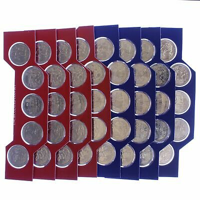 2016 P D America The Beautiful Quarters BU Roll ATB US Mint Cello 40 Coin Set