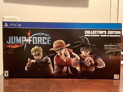 Jump Force Collector's Edition PS4 BRAND NEW Sealed Fast Shipping In Hand!