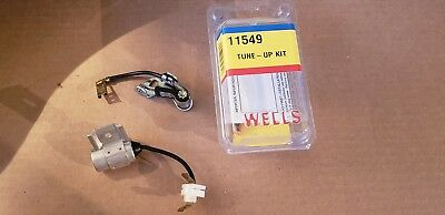 Ignition Kit-Breaker Points and Condenser Kit Wells 11549