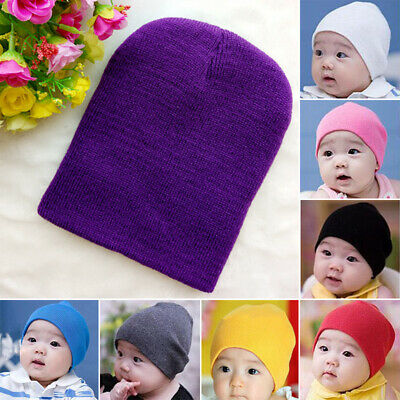 Kids Cute Newborn Baby Infant Toddler Comfy Bowknot Hospital Cap Beanie Hat