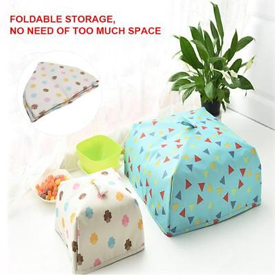 Foldable Food Umbrella Cover Fly Wasp Insect Cover Foldable Heat Preservation J