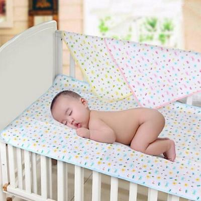 Baby Infant Diaper Nappy Urine Mat Kid Waterproof Bedding Changing Cover Pad J