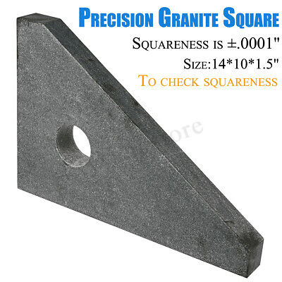 """Cake Pans HHIP 4901-2705 15X10X1.5"""" Precision Granite Square SURFACE ANGLE PLATE"""
