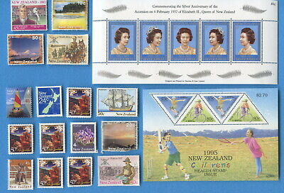 New Zealand postage stamps $25 face uncancelled, with/without gum [sta2326]