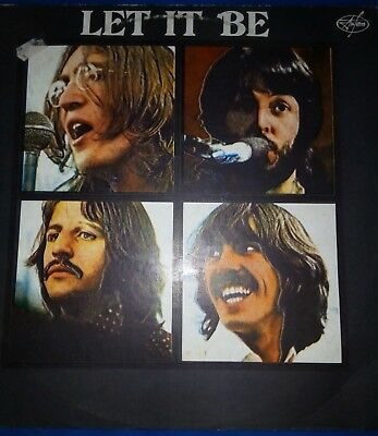 The Beatles-Let It Be Lp Unofficial Rusia 1992
