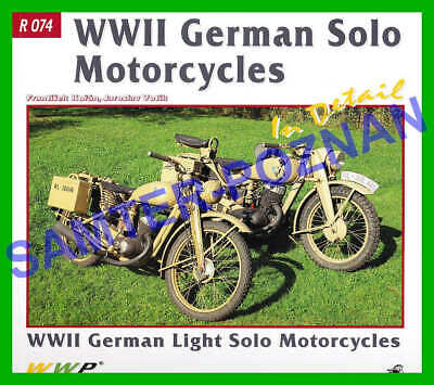 DKW RT125 NZ350 Zundapp K350 BMW R12 R61 (1939-1945) in detail - foto album