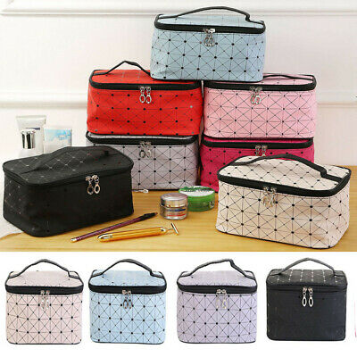 2019 Professional Large Make Up Bag Vanity Case Cosmetic Tech Storage Beauty Box