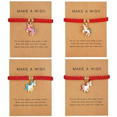 Lucky Make A Wish Lovely Horse Bracelet Tibetan Friendship Best Friend Bangle