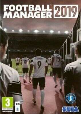 Football Manager 2019 (PC) BRAND NEW AND SEALED - IN STOCK - QUICK DISPATCH