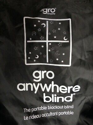 Gro Anywhere Blackout Blind - The Gro Company Travel Blind Lovely Condition