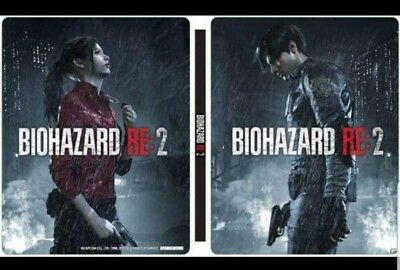 SONY PS 4 Capcom Resident Evil Re 2 Biohazard GEO Limited Only Steel Book