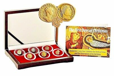 First Days of Christmas: 6 Ancient Coins That Celebrate the Birth of Jesus,Boxed