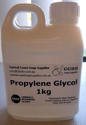 1 Litre Propylene Glycol Cosmetic & Food Grade Usage incl Soap Making Vaping