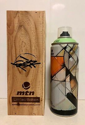 Limited Edition MTN Montana Colors *KOFIE* Spray Paint Can in Wood Display Box