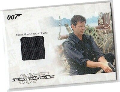 James Bond Mission Logs JBR22 Pierce Brosnan Tactical Vest Costume Card 356/600