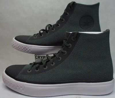 New Mens 14 Converse All Star Modern Hi Olive Submarine Textile  110 157217C 691fb3546