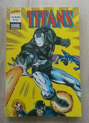 Titans  ** Album N°61 (N° 181 , 182 Et 183 )  ** Semic