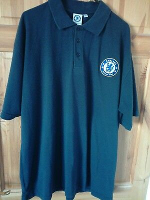 Chelsea FC Home Football Training Polo Shirt Jersey Top Extra Large XXL 2XL Blue