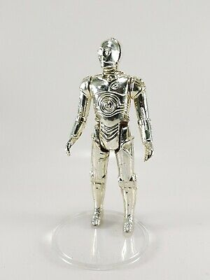 Star Wars Vintage C3PO Kenner coo two lines HK ligth gold good condition
