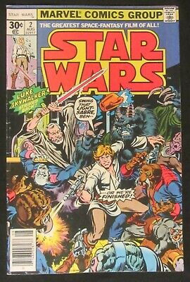 Star Wars #2 (1977 Marvel) 7.0...1st print...Howard Chaykin art