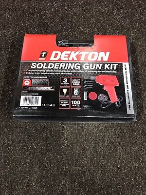 Electric Soldering Iron Gun Kit