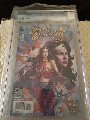Dc Comics Wonder Woman 77 Special Variant Issue 1 Cgc 9.8  Jimenez Cover.