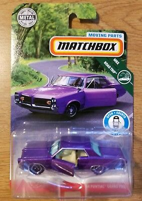 2019 issue MATCHBOX Moving Parts /'64 Pontiac Grand Prix NEW in BLIST