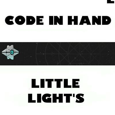 Destiny 2 Little Light's Emblem code * IN HAND * FAST DELIVERY * (PS4, XBOX, PC)