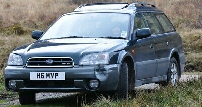 Subaru Outback H6 3.0 with an awesome number plate