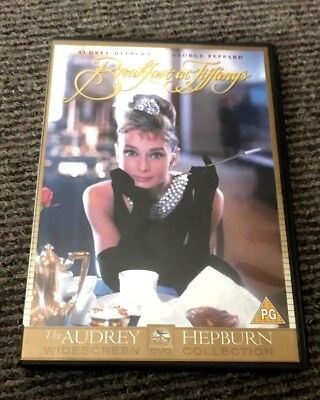 Breakfast at Tiffanys DVD - Region 2 - Audrey Hepburn - Unwatched