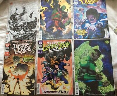 Justice League (2018) #1,2,3,4,5,6,7,8,9,10,11,12 Lee Variant Covers