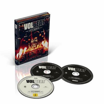 VOLBEAT Let's Boogie: Live from Telia Parken 2 CD+ BLU RAY