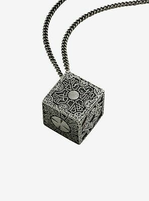 Officially Licensed Metal HELLRAISER Puzzle Box Chain Necklace Inferno Lament