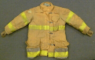 44x35 Janesville Firefighter Jacket Coat Bunker Turn Out Gear J725