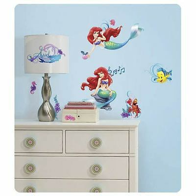 The Little Mermaid Wall Decals Stickers Kids Room Decor LICENSED New Ariel Decal