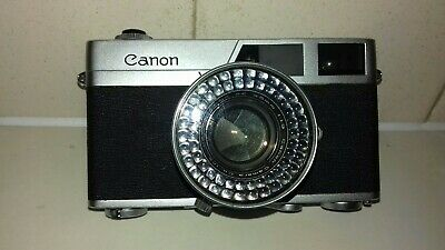 Canon Canonet Vintage Rangefinder Camera-Faulty-Spares/repair-Just £1.00