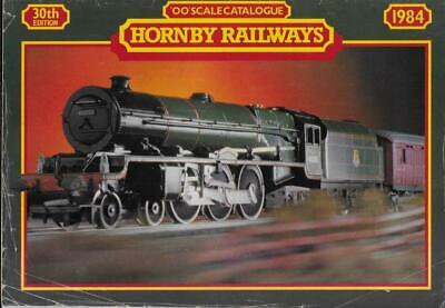 Model Railway Catalogue Hornby OO Scale 30th Edition 1984 R480 + Price LIst