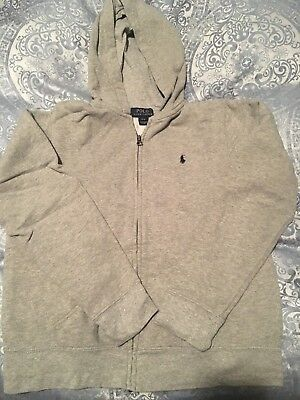 Polo Ralph Lauren, Gray sweatshirt, size L (14/16) very good used condition