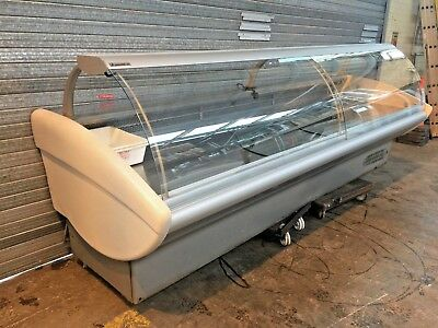VERY CHEAP - 3.2m Serve over counter  display fridge chiller refrigeration