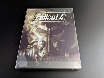 Fallout 4 Playstation 4 PS4 LN PERFECT condition COMPLETE w Steelbook Case!