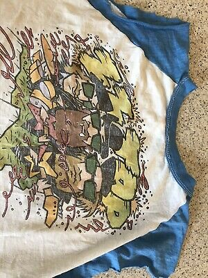 Vintage 1981 ZZ Top Concert Shirt Original