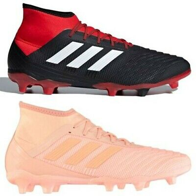 c3316d05f adidas Predator 18.2 FG Firm Ground Football Boots Mens Soccer Shoes Cleats