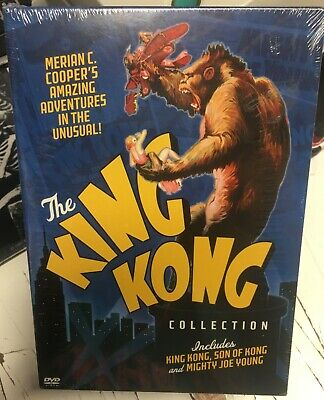 The King Kong Collection -DVD - 2005 - 4-Disc Set - BRAND NEW - FACTORY SEALED -