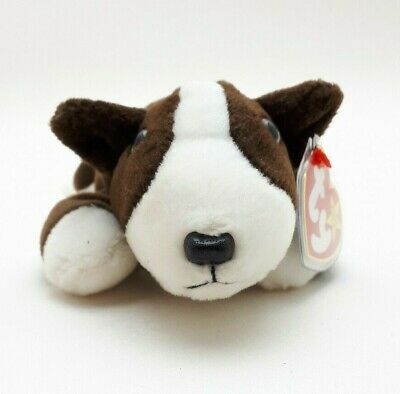 baf24208590 TY BEANIE BABIES Bruno the bull terrier. Soft toy.1997. Used. Good ...