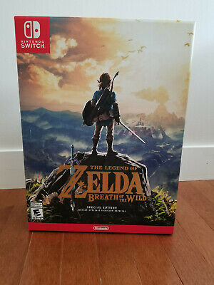 Legend of Zelda: Breath of the Wild Special Edition (Nintendo Switch) New