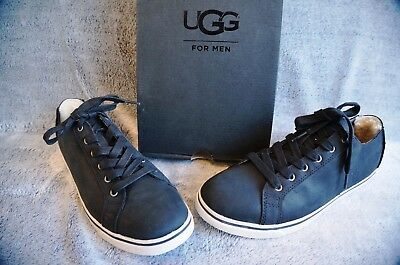 73d60bfbb91 UGG VANOWEN LEATHER SNEAKERS, US 11 Mens , Color: BLACK